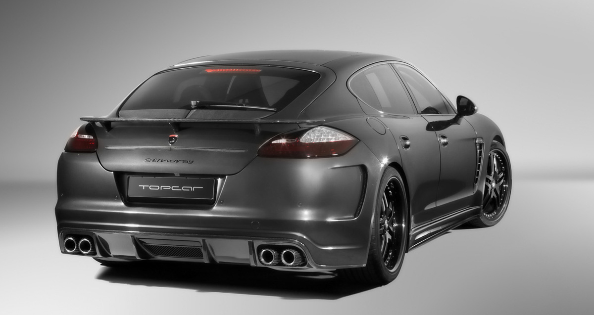 BMW X6M For Sale >> Best aftermarket Porsche Panamera Rear Spoilers and Wings ...