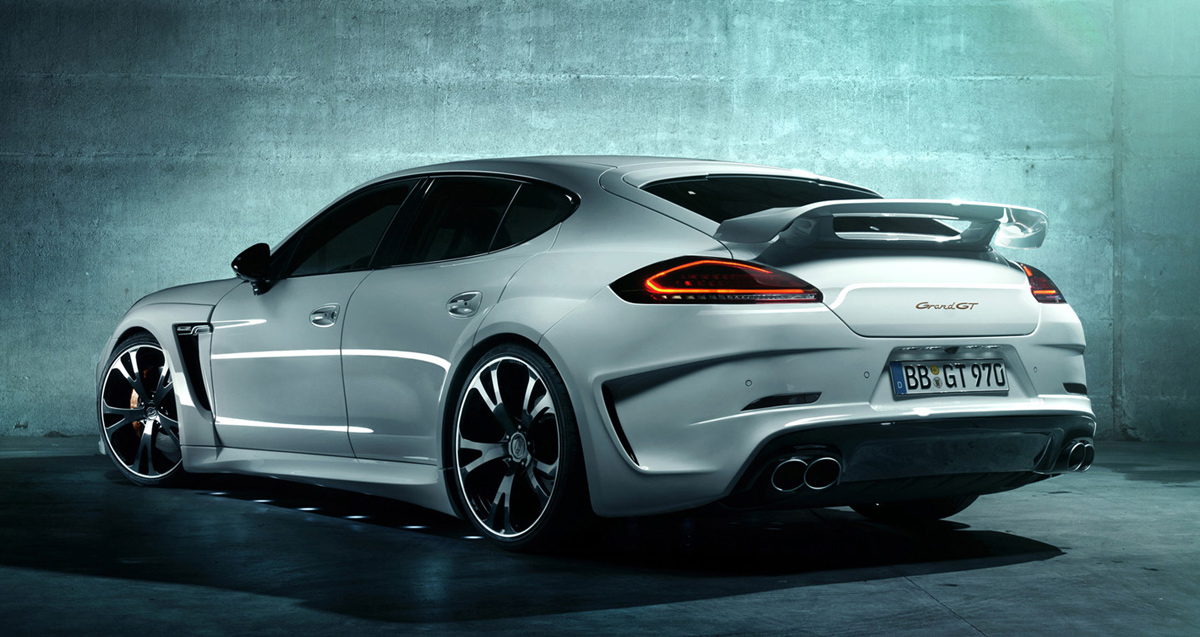 Best Aftermarket Porsche Panamera Rear Spoilers And Wings Insanegarage Com