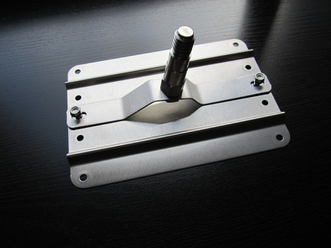 Not a full size plate u2013 Use non-offset bracket & Porsche Panamera Tow hook front plate license bracket choices ...