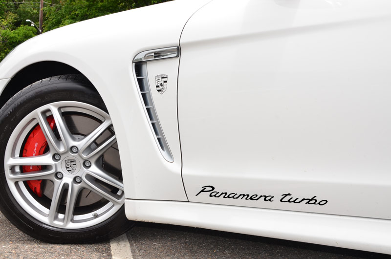 New Quot Panamera Turbo Quot Door Decal And Sticker For Sale